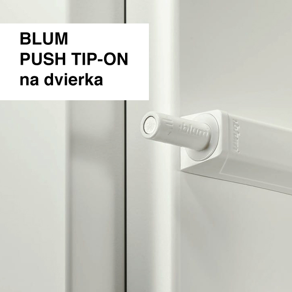 BLUM PUSH TIP-ON na dvierka
